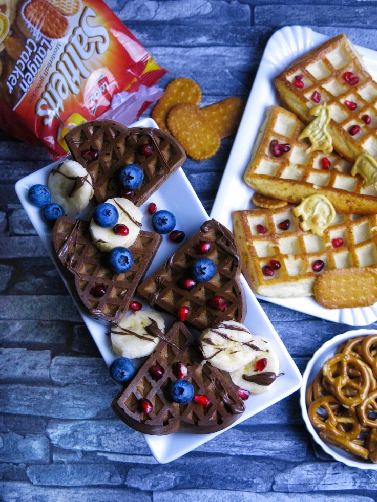 Sweet and salty Waffel
