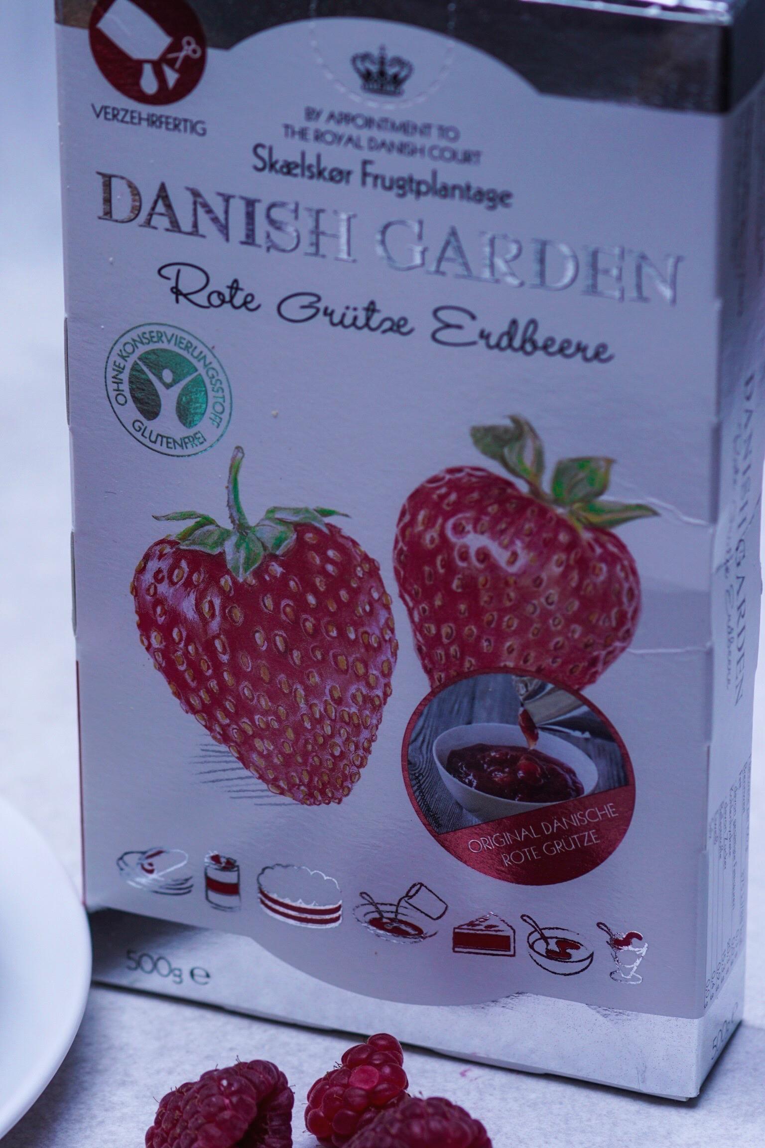 Erdbeere Grütze