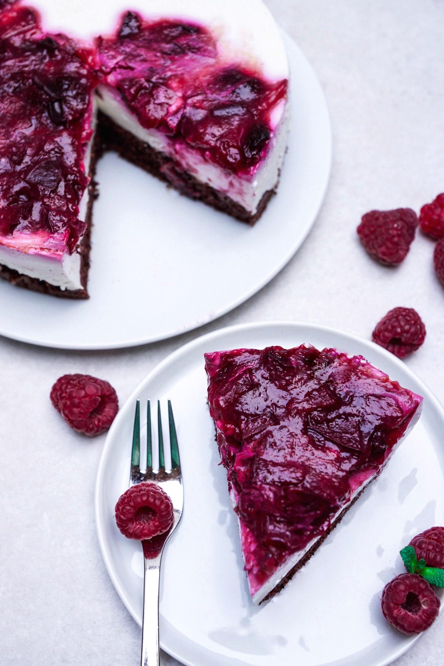 Kuchen von oben
