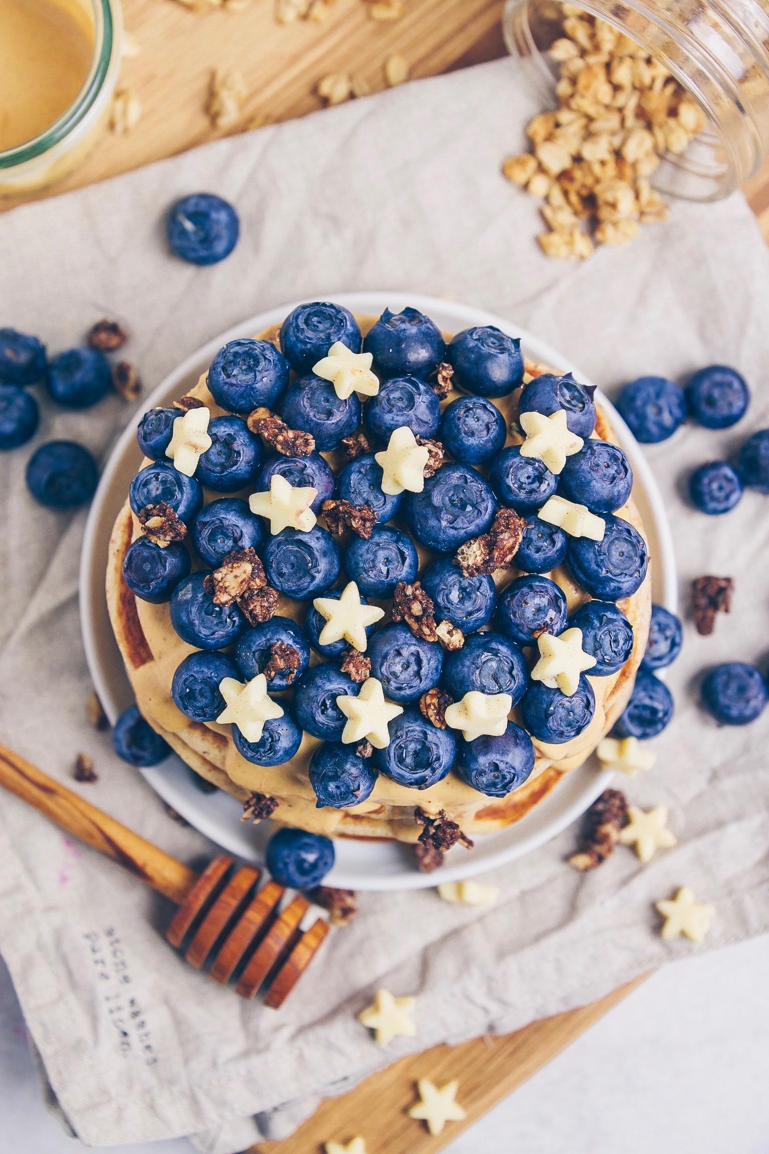 Haselnuss Pfannkuchen