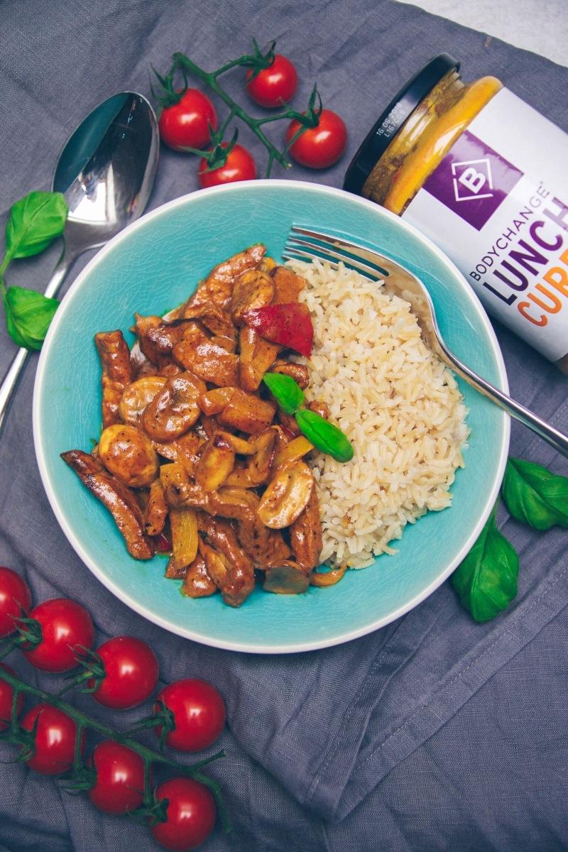 Thai Curry mit Reis