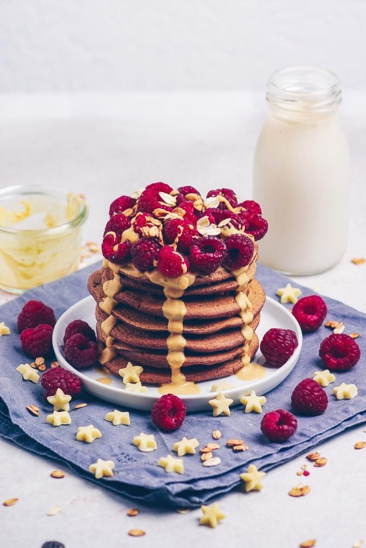 Brownie Batter Pancakes