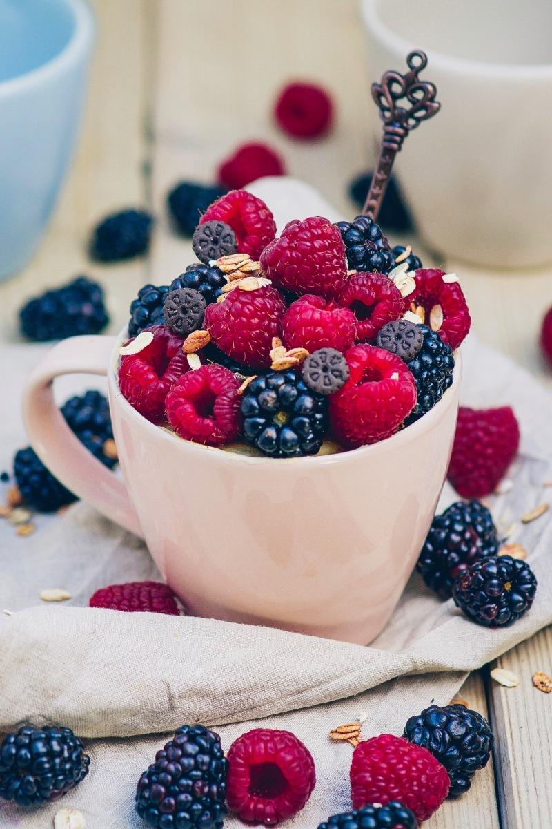 1 Minute Rezept - Mugcake mit Step-by-Step Bildern