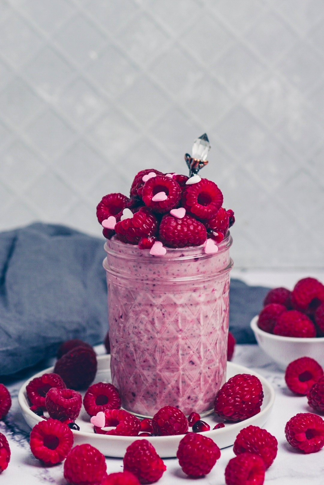 Himbeer Chia Pudding