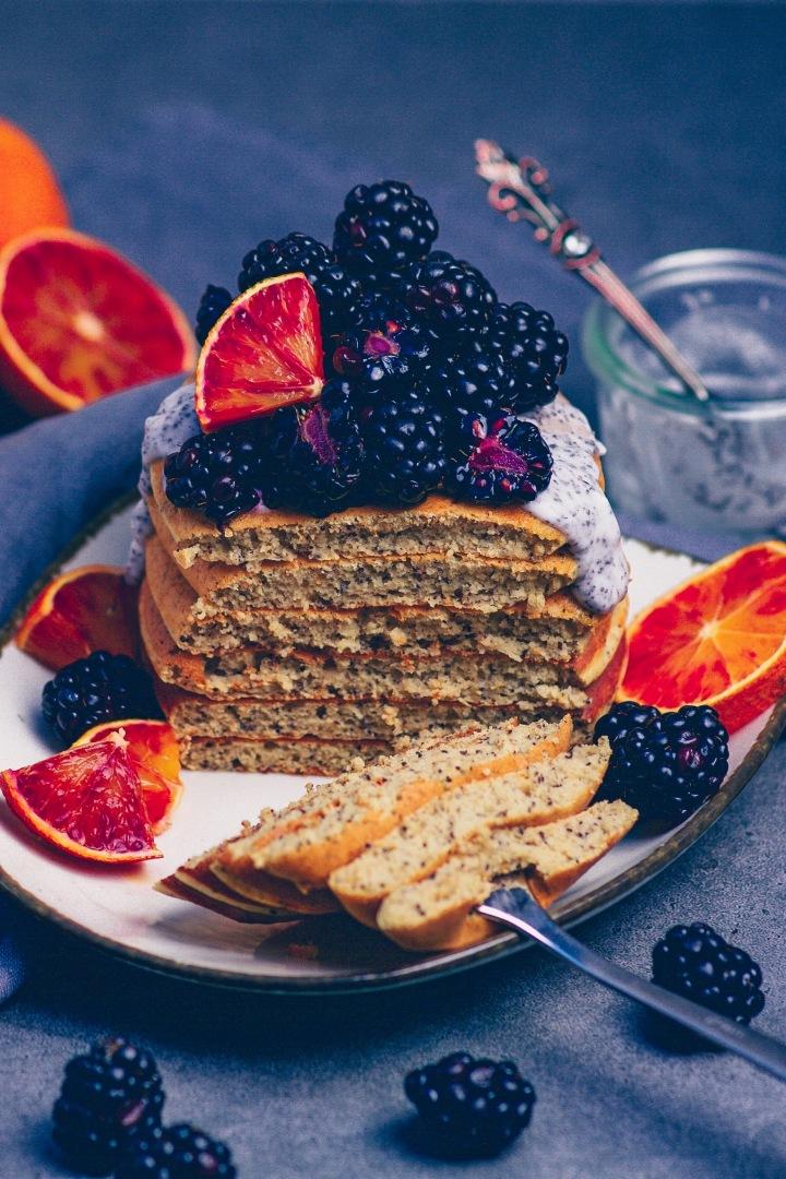 Mohn-Pfannkuchen