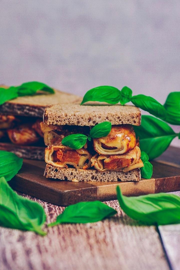 Nudelsandwich