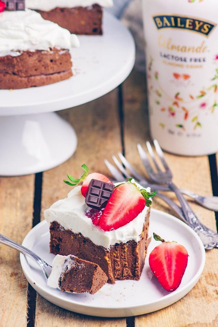 Baileys Kuchen angeschnitten 4