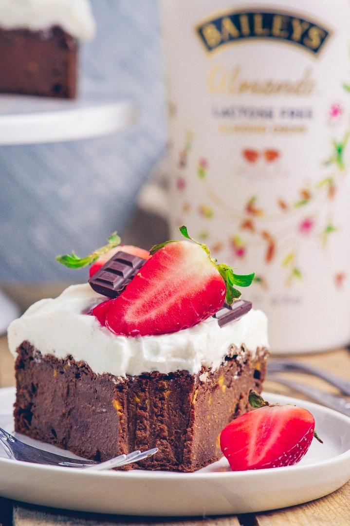 Baileys Kuchen nah