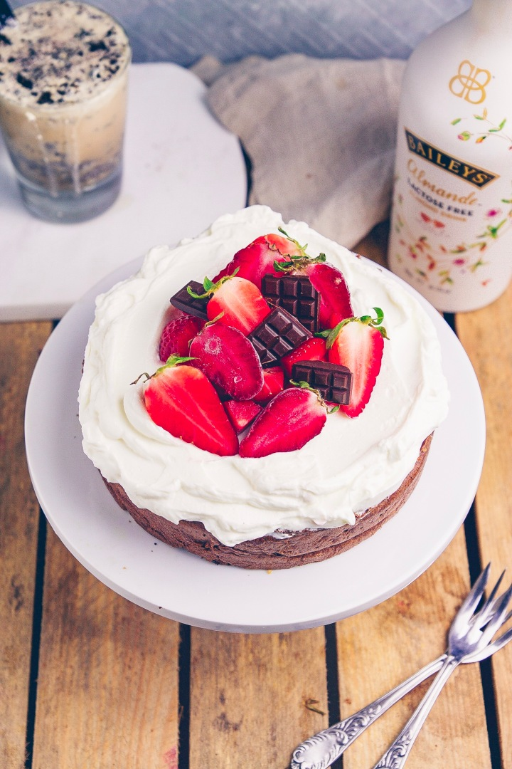 Baileys Kuchen von oben 2