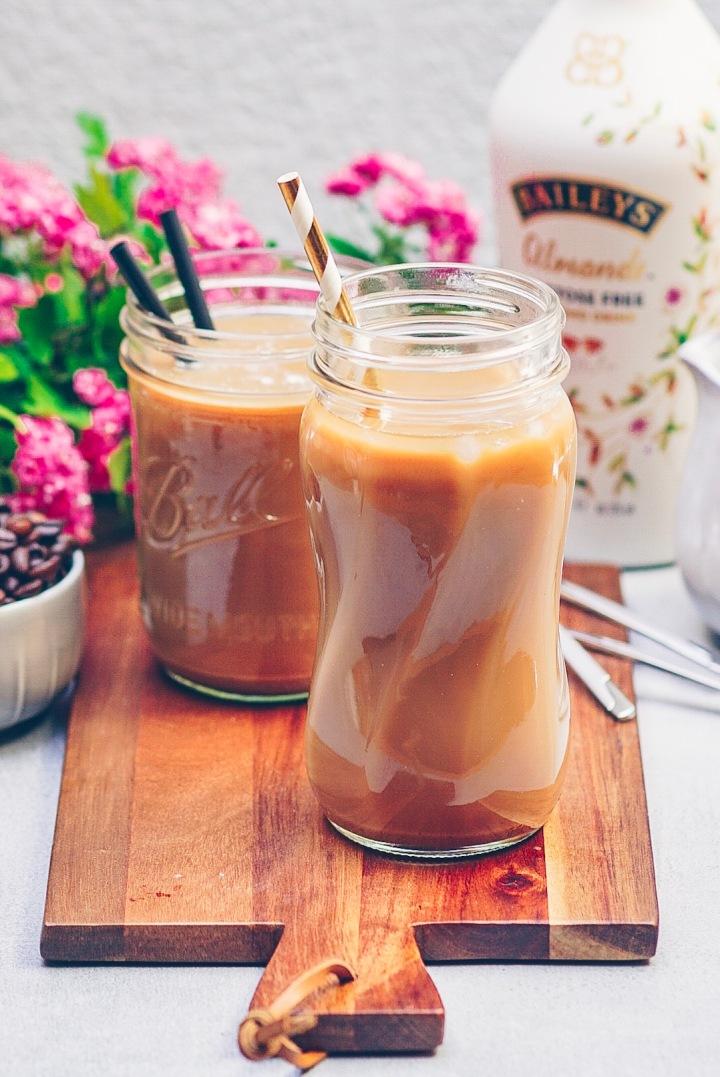 Eiskaffee Baileys 90 Grad
