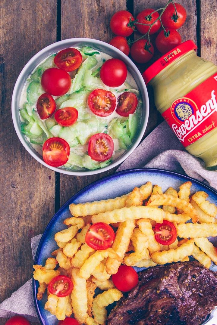 Löwensenf Salat