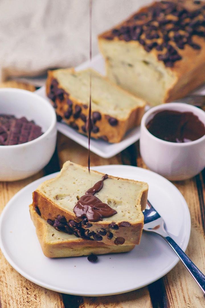 Schokoladen-Bananenbrot