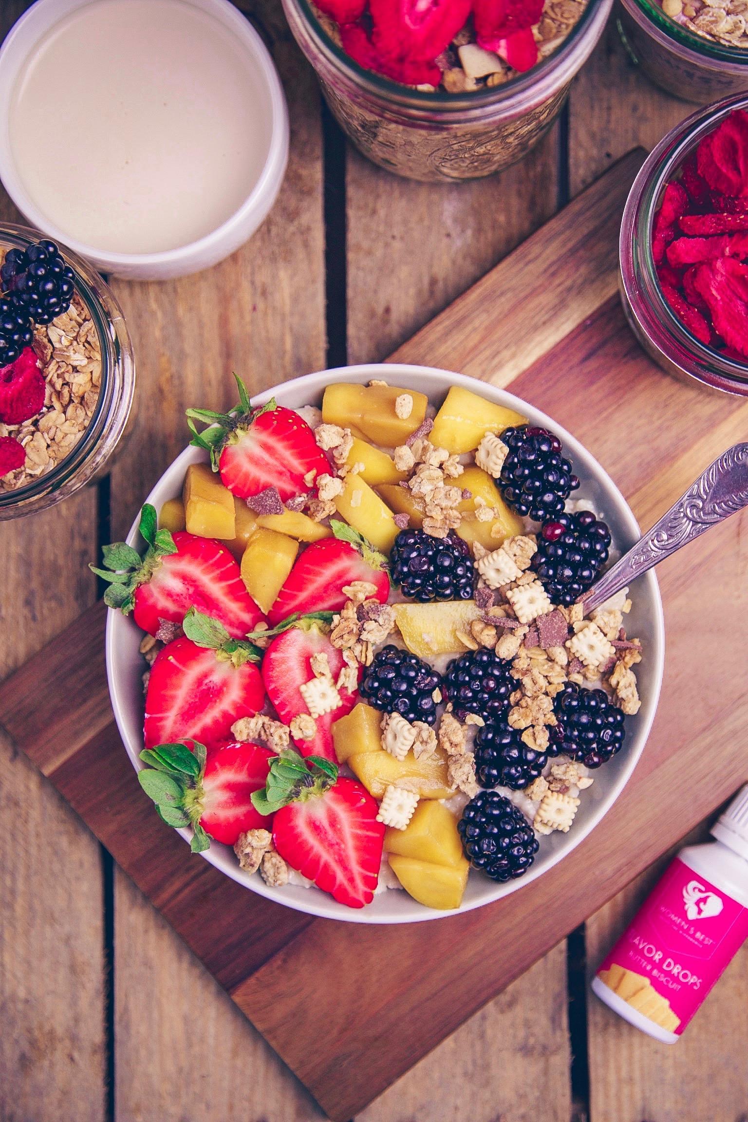 Oatmeal mit Granola