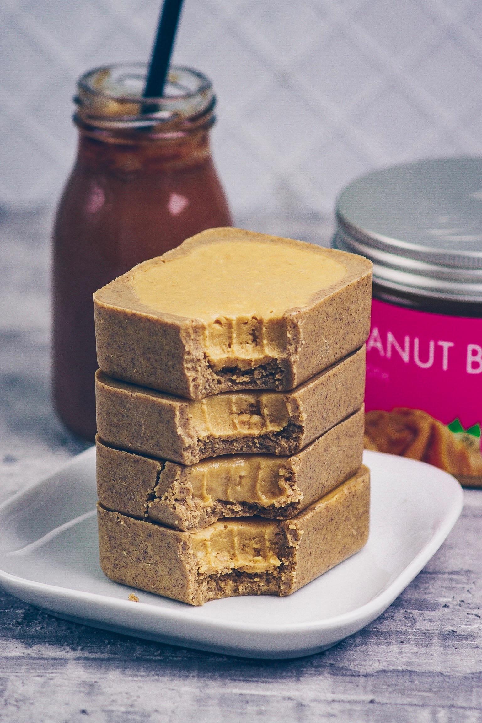 Peanut Butter & Nougat Fudge