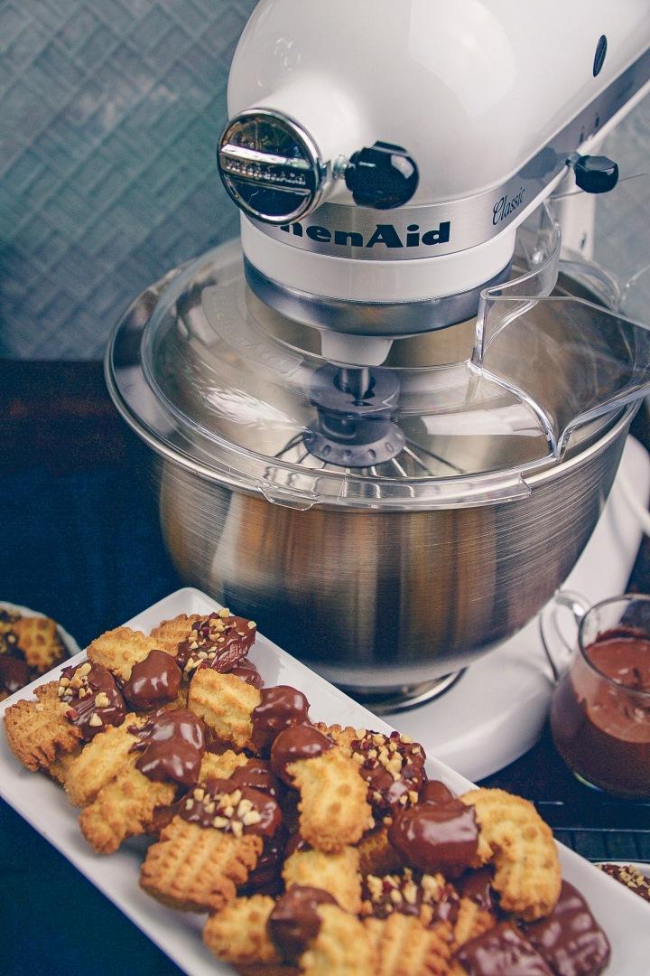 Spritzgebäck mit KitchenAid