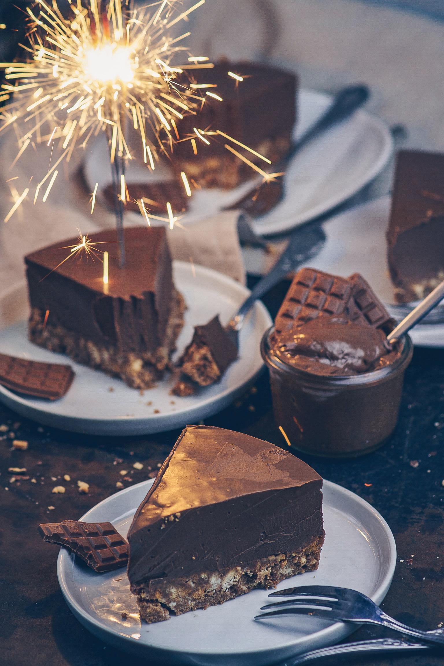 Zimtkeks-Nougat Kuchen 9