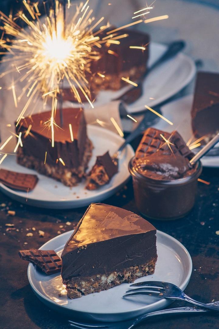Zimtkeks-Nougat Kuchen